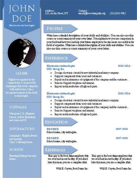 Modelo Y Estructura De Curriculum Vitae 10 Modelos De Plantillas Creativas Y Originales Para Crear Tu Curriculum