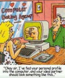 computer dating agency jokes memes pictures
