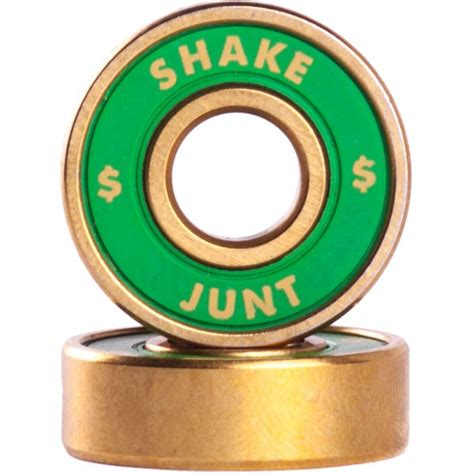 shake junt quot getcha roll on quot abec 7 skateboard bearings
