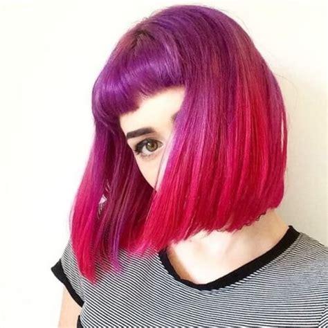 fuchsia hair color 50 magenta hair color ideas for bold hair motive
