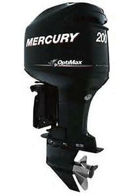 Mercury 200 Optimax Jet Drive Outboard Motor Service