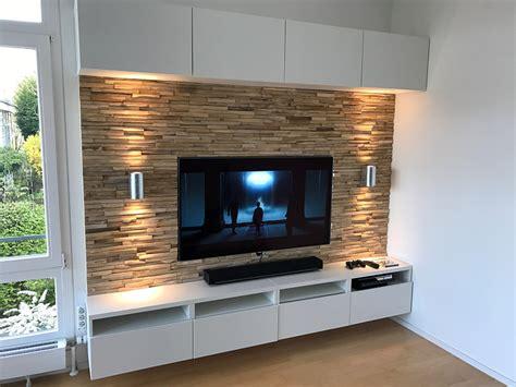 Fernseher Wand Gestalten by Tv Wand Gestalten Kleines Tv Wnde Tv Wohnwand Wandfarbe