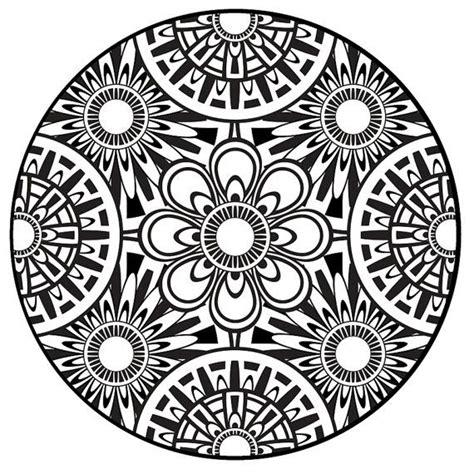 aztec coloring pages pdf 19 best mandala coloring pages images on pinterest