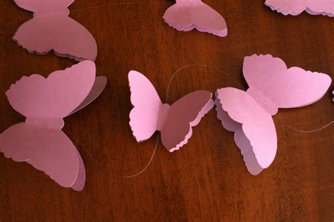 How To Make A Paper Butterfly Mobile - tutorial from a catch my member how to make a