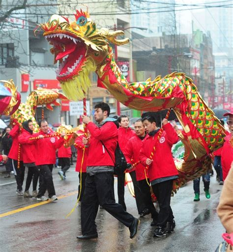 new year 2016 chinatown parade photos colourful new year parade brightens vancouver