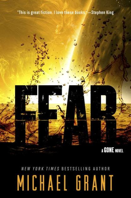 1405277092 the gone book the fear gone series 5 by michael grant paperback barnes