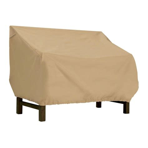 outdoor bench covers classic accessories terrazzo large patio bench seat cover