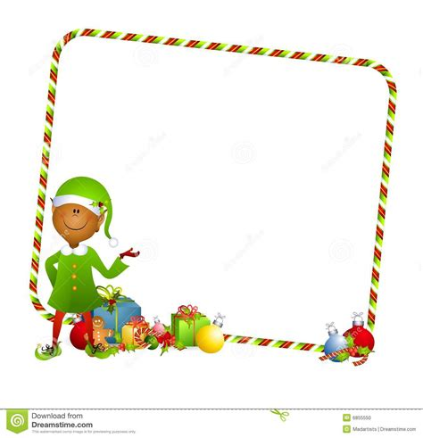 printable elf borders image gallery elf border