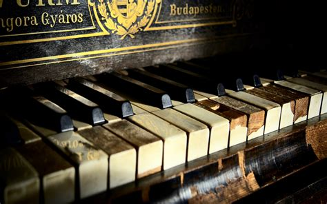 wallpaper laptop piano rustic piano full hd wallpaper and background image