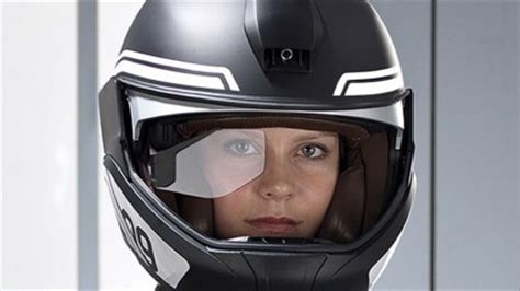 Motorradhelm Mit Head Up Display by Motorrad Bmw Integriert Head Up Display In Den Helm