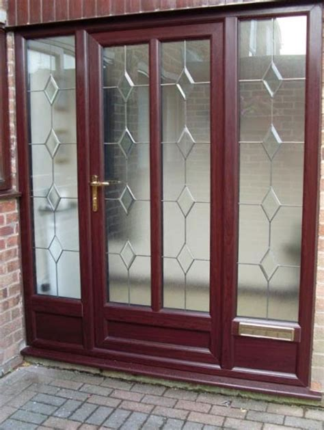Upvc Front Door Panels Glazing In Leicester West Leicestershire Le3 5gf Absolute Window Solutions Ltd