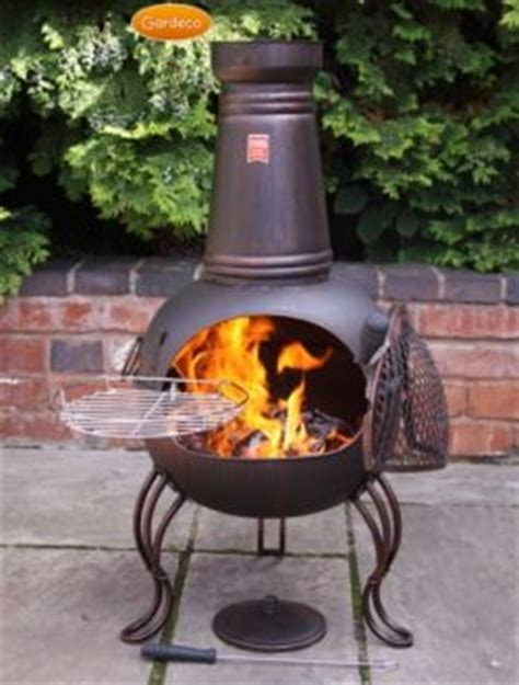 Chiminea Tray Chimenea Fireplace With Bbq Grill Inspired Gling