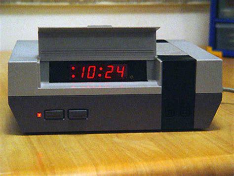 alarm clocks made from consoles techeblog