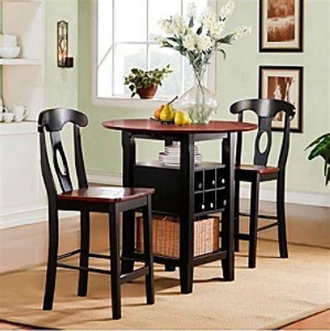 bistro kitchen table set 3 bistro kitchen set table bar wine rack chairs