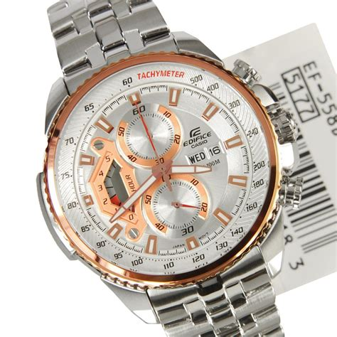 Casio Edifice Efb 301jl 7a Casio Original For Mens casio edifice mens chronograph ef 558d 7a ef558d