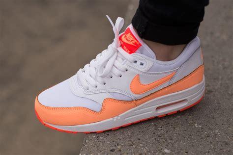 Nike Airmax 1 nike wmns air max 1 essential sunset glow sneaker bar detroit