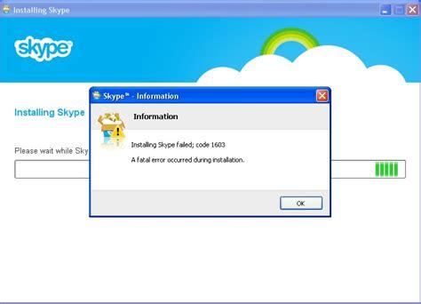 How Can Find Me On Skype Install Skype Error Code 1603 Skype Community