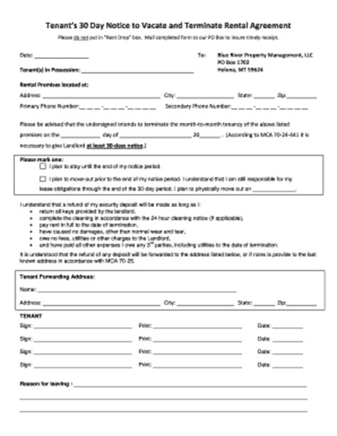 Florida 30 Day Notice To Vacate Template Florida 30 Day Notice To Vacate Template Fill Online Printable Fillable Blank Pdffiller