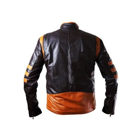 Jaket Wolverine Brown wolverine brown leather jacket