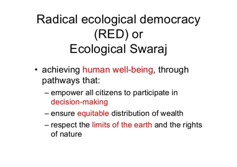 Sustainable Mba Career Pathways by Ecological Swaraj Towards A Sustainable And Equitable India