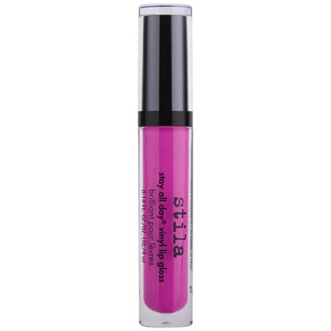 Fr Hotpink Lip Gloss 1 stila stay all day vinyl lip gloss in pink