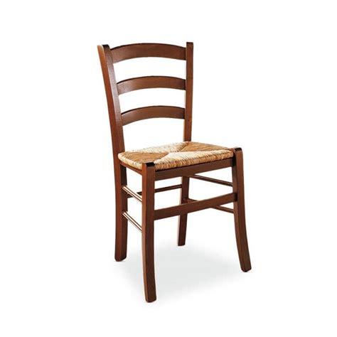 sedia rustica sedia rustica in legno seduta in paglia di riso per