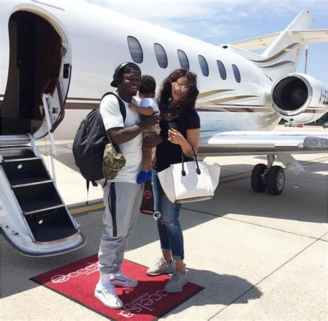 black celebrity business owners lifestyle sulley muntari flies wife and son on private