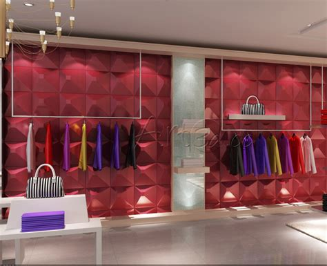 home design clothing shop wall design clothing shop wall