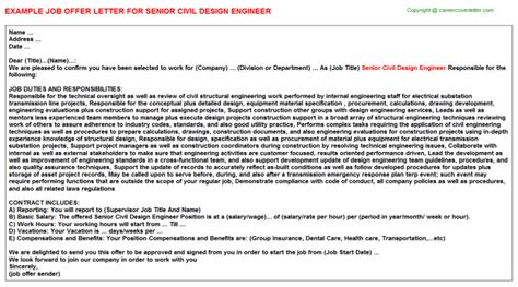 substation design engineer job description senior staff architect offer letters