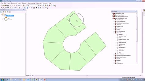 tutorial in arcgis arcgis how to use append tools useful for topology youtube