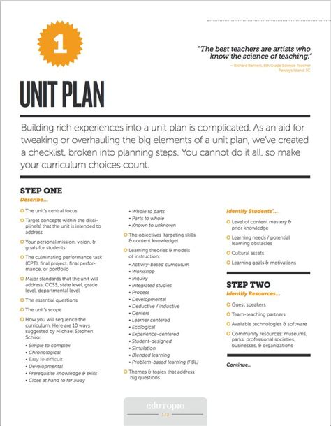 best 20 unit plan ideas on pinterest