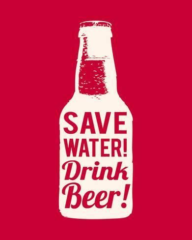 about quot drinking and beer quot metal painting vintage tin save water drink beer posters by the vintage collection at