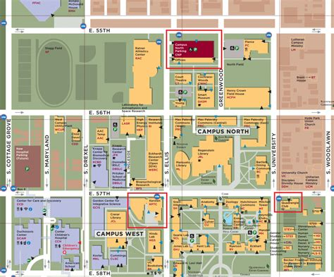 chicago map building kadanoff memorial symposium directions uchicago mrsec