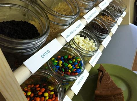 cheesecake toppings bar pin by chestnut street kitchens cheesecake bar on