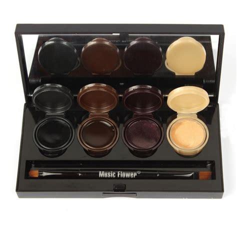 Eyeshadow Gel professional 4 colors gel eyeliner makeup eye liner palette eyeshadow smoke makeup