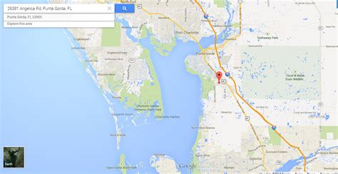 punta gorda florida map vacant residential lot in sw florida near most beautiful beaches in florida land century