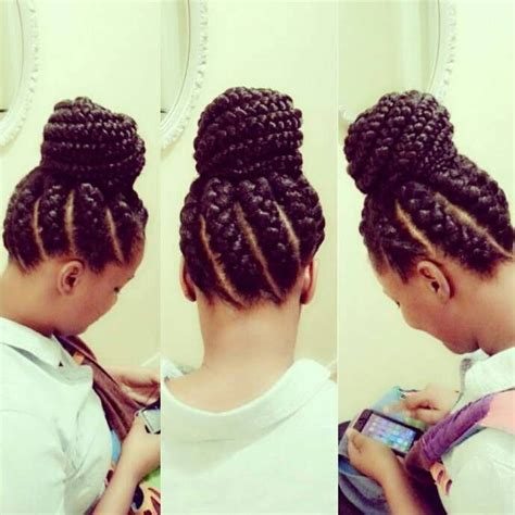 big braids updo goddess braids and bun black hair information community