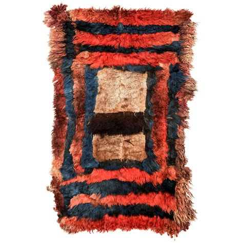 central rugs central asian pelt rug for sale at 1stdibs