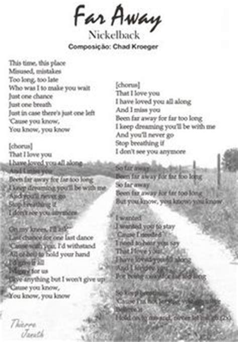 far away nickelback testo nickelback lyrics on nickelback quotes