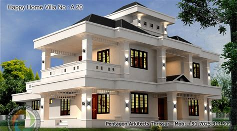 2755 square 5 bhk contemporary happy home villa 20 design