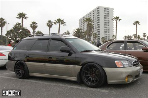 lowered subaru legacy outback carjunkies