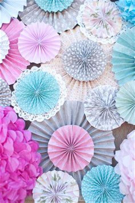 Paperfan Paper Fan Renda Paper Flower Lace Pompom Kertas 20cm backdrop ideas on 70 pins