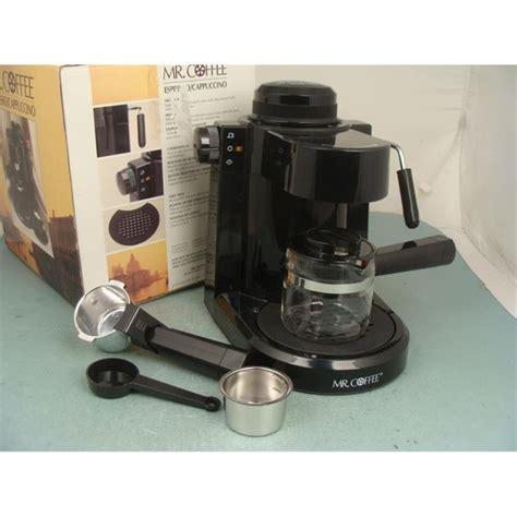 Coffee Maker Ecm 1250 mr coffee espresso machine cappuccino maker ecm 3