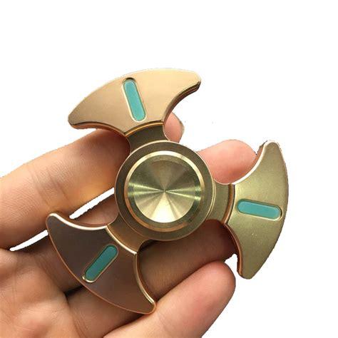 Spinner Metal buy mateminco fluorescent edc spinner metal zinc alloy finger fidget spinner for anti