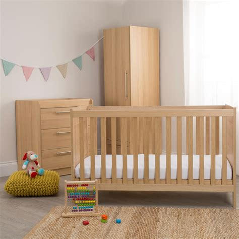 Oak Nursery Furniture Set Thenurseries Furniture Sets Nursery