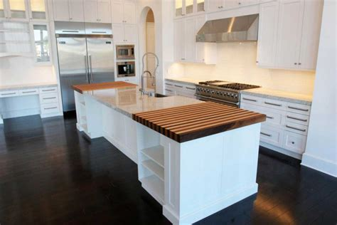 Wood Kitchen Floors White Wood Floors Feel The Home