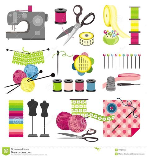 free crafts craft icons sewing royalty free stock photo image