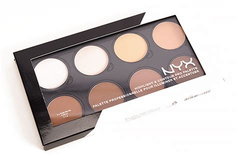 Nyx Contour nyx highlight contour palette review photos swatches
