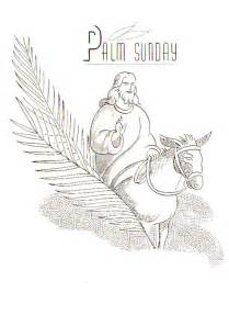 palm sunday coloring page palm sunday coloring pages