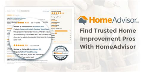 find trusted home improvement pros with homeadvisor